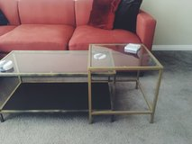 Coffee table and side table in San Clemente, California