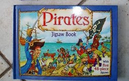 Pirate puzzle book in Stuttgart, GE