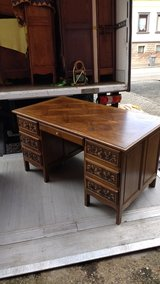 beautiful desk with both side carvings ! in Ramstein, Germany