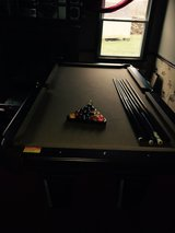 Pool table in Westmont, Illinois