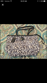 ANIMAL PRINT COACH PURSE in Byron, Georgia