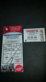 FREE Coupon For $3.00 Off Of A Vitamin Purchase At Turner Drugs in Kissimmee, Florida