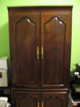 DRASTICALLY REDUCED! SOLID WOOD Kincaid Entertainment Center in Alamogordo, New Mexico