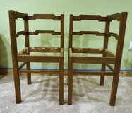 Pair of French Corner Arm Chairs in Great Lakes, Illinois