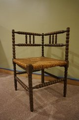 Antique Corner Arm Chair in Great Lakes, Illinois