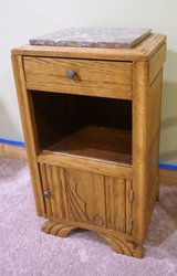 Vintage French Bedside Table in Great Lakes, Illinois