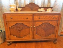 English sideboard ca 1930 in Great Lakes, Illinois