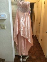 Pearl pink dress short to long in Travis AFB, California