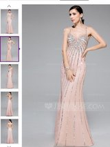 Trumpet/mermaid sweetheart floor length in Travis AFB, California