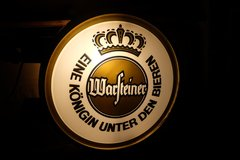 Huge Warsteiner German Beer Sign Light in Los Angeles, California