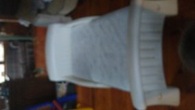 Toddler bed/mattress white in Perry, Georgia