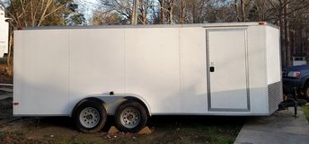 Trailer 20x8 enclosed cargo for sale. in Warner Robins, Georgia