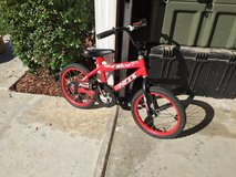 Boys bicycle in Camp Pendleton, California