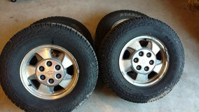 Like New tires On Chevy 6 hole Wheels in Springfield, Missouri