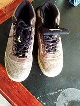 shoes  (Fubu) ( used) size 7 tan-color $5.00 in Dickson, Tennessee