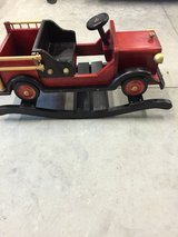 Fire Truck Rocking Toy in Vacaville, California