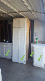 Old kitchen cabinet/drawer and pantry FREE in Lake Elsinore, California
