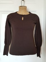 Ann Taylor Loft sweater top w/button size M in Morris, Illinois