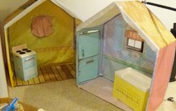Rose Petal Cottage with changing table and stove in Sugar Grove, Illinois