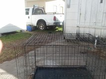 XL dog crate in Baytown, Texas