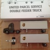 Truck, United Parcel Service Double Feeder in Fort Campbell, Kentucky