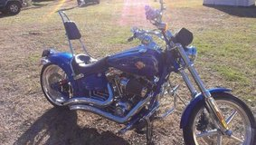 Check this Harley out.  A Classic steel.  Very nice shop kept Harley Davidson Rocker C. in DeRidder, Louisiana