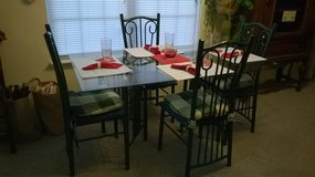 Dining Set with Pie Safe Rack in Wilmington, North Carolina