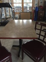 Rectangular table and 2chairs in Naperville, Illinois
