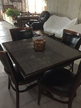 Square table with 4 chairs in Westmont, Illinois