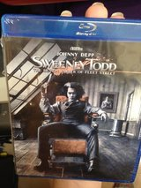 NEW Sweeney Todd Blu Ray in Okinawa, Japan