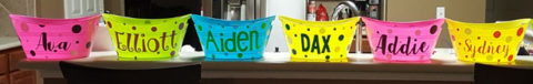 Personalized Easter Baskets / Party favor baskets in Conroe, Texas