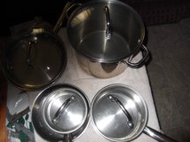 ===POTS, PANS STAINLESS STEEL in Cherry Point, North Carolina