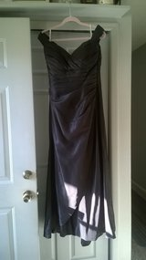 Belsoie Bridesmaid Dress- Black off shoulder in Columbus, Ohio