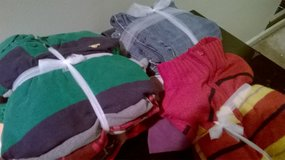 Boys pack of shirts/jeans used- great for play clothes Mixed sizes in Columbus, Ohio