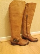Vince Camuto Leather wide calf riding boots in Vacaville, California