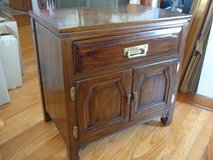 Vintage Dark Mahogany Cabinet in Bolingbrook, Illinois