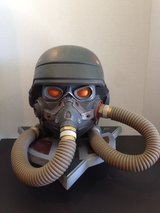 Killzone PS3  Helghast Gas Mask Helmet Limited Edition Display Storage Case in Fairfield, California