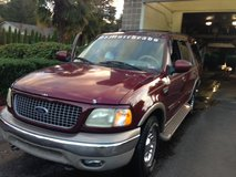 $ 2979-obo- 2001 Burgundy FORD EXPEDITION-Eddie Bauer, XLT, hydraulic-ride, not air. 4-new tires... in Fort Lewis, Washington
