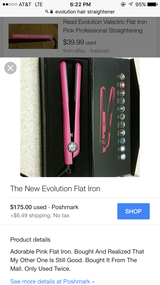 Evelution flat iron in DeRidder, Louisiana