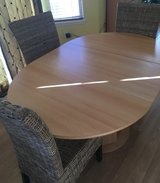 Dining table in Fort Eustis, Virginia