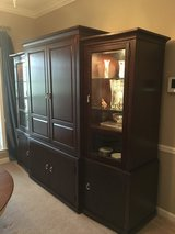Entertainment center,Curio/China cabinet, sofa or entryway table plus side table in Fort Rucker, Alabama