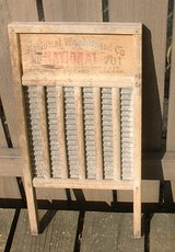 VTG NATIONAL 701 WOOD & METAL WASHBOARD in Naperville, Illinois