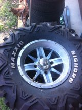Bighorn tires on aftermarket rims in Fort Polk, Louisiana