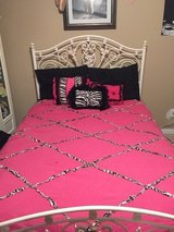 Zebra print bedroom and bathroom set in Pleasant View, Tennessee