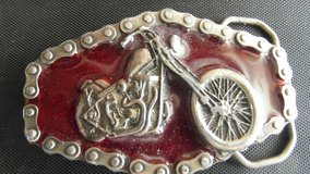 Chopper Chain  Motorcycle Belt Buckel .. in Fort Leonard Wood, Missouri
