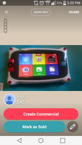 Nabi Jr Tablet WIth New Charger in Yucca Valley, California