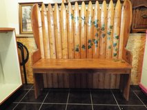 Bench*Beautiful*All Wood*Hand Painted in Rolla, Missouri