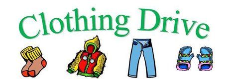 Community Clothes Drive in Travis AFB, California