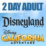 2 DisneyLand two day single park admission tickets in Joliet, Illinois