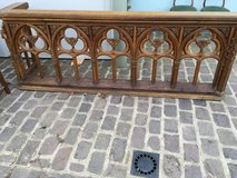 balustrade from a church at France in Ramstein, Germany